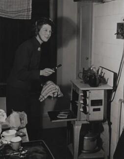 Dame Wendy Margaret Hiller, by Baron (Sterling Henry Nahum) - NPG x196103