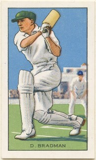 Sir Donald George Bradman, issued by Gallaher Ltd - NPG D49033