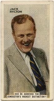Jack Hylton, issued by Godfrey Phillips - NPG D49041
