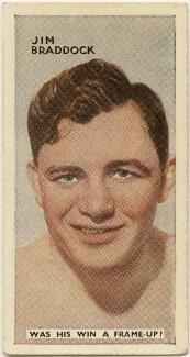 James J. Braddock, issued by Godfrey Phillips - NPG D49045