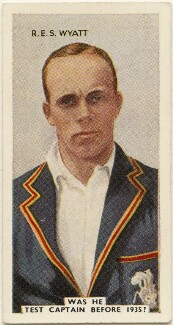Robert Elliott Storey Wyatt, issued by Godfrey Phillips - NPG D49047