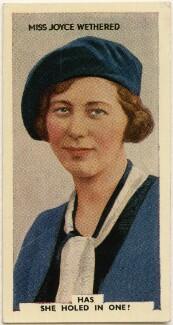 Joyce Heathcoat-Amory (née Wethered), Lady Heathcoat-Amory, issued by Godfrey Phillips - NPG D49049