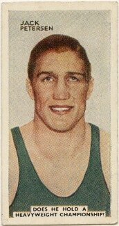 Jack Petersen, issued by Godfrey Phillips - NPG D49052