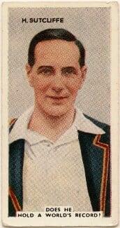 Herbert Sutcliffe, issued by Godfrey Phillips - NPG D49057