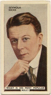 Sir (Edward) Seymour Hicks, issued by Godfrey Phillips - NPG D49058