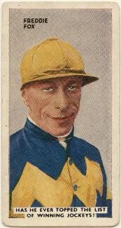 Frederick Sydney ('Freddie') Fox, issued by Godfrey Phillips - NPG D49061
