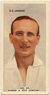 Douglas Robert Jardine, issued by Godfrey Phillips - NPG D49066