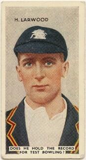 Harold Larwood, issued by Godfrey Phillips - NPG D49067