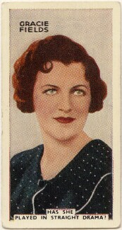 Dame Gracie Fields, issued by Godfrey Phillips - NPG D49075
