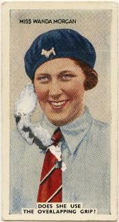 Wanda Morgan, issued by Godfrey Phillips - NPG D49076