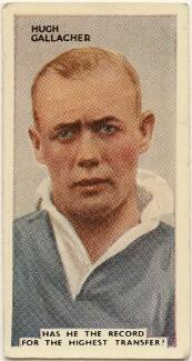 Hugh Kilpatrick ('Hughie') Gallacher, issued by Godfrey Phillips - NPG D49087