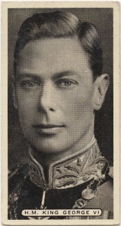 King George VI, issued by Ardath Tobacco Company Limited - NPG D49094
