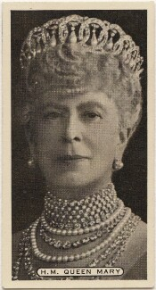 Queen Mary, issued by Ardath Tobacco Company Limited - NPG D49096
