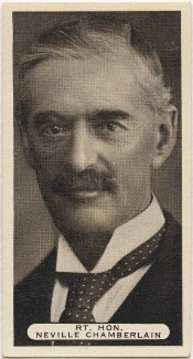 (Arthur) Neville Chamberlain, issued by Ardath Tobacco Company Limited - NPG D49101