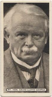 David Lloyd George, 1st Earl Lloyd-George, issued by Ardath Tobacco Company Limited - NPG D49103