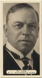 William Lyon Mackenzie King, issued by Ardath Tobacco Company Limited - NPG D49124