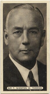 Sir (Thomas) Shenton Whitelegge Thomas, issued by Ardath Tobacco Company Limited - NPG D49143