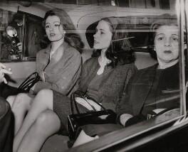 Christine Keeler; Paula Hamilton-Marshall; Olive Nadia Brooker, by Unknown photographer - NPG x196129