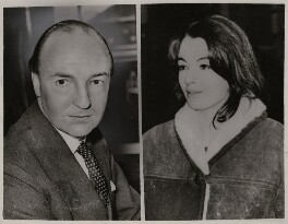 John Profumo; Christine Keeler, by Unknown photographers, printed 1963 - NPG  - © reserved; collection National Portrait Gallery, London