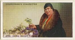 Emma Baker, by Mr Douglas, issued by  W.A. & A.C. Churchman - NPG D49145