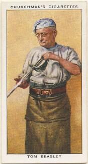Tom Beasley, by Mr Douglas, issued by  W.A. & A.C. Churchman - NPG D49146