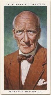 Algernon Henry Blackwood, by Mr Douglas, issued by  W.A. & A.C. Churchman - NPG D49148
