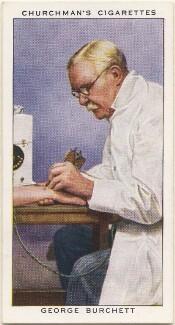 George Burchett, by Mr Douglas, issued by  W.A. & A.C. Churchman - NPG D49150
