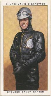 'Cyclone' Danny Carter, by Mr Douglas, issued by  W.A. & A.C. Churchman - NPG D49151