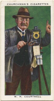 William R. ('Bill') Courtnell, by Mr Douglas, issued by  W.A. & A.C. Churchman - NPG D49153