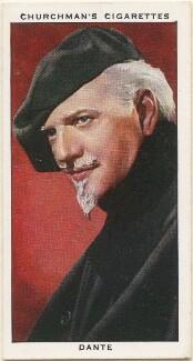 Harry August Jansen ('Dante'), by Mr Douglas, issued by  W.A. & A.C. Churchman - NPG D49155