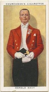 Harold Davy, by Mr Douglas, issued by  W.A. & A.C. Churchman - NPG D49156