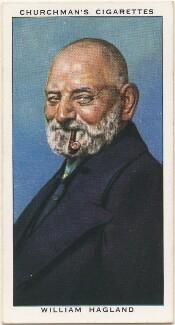 William Hagland, by Mr Douglas, issued by  W.A. & A.C. Churchman - NPG D49162