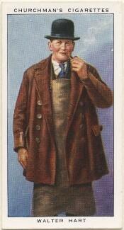 Walter Hart, by Mr Douglas, issued by  W.A. & A.C. Churchman - NPG D49163