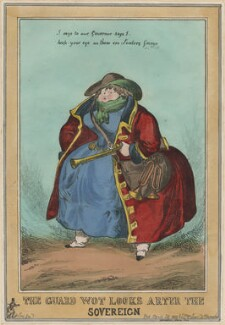 Elizabeth Conyngham (née Denison), Marchioness Conyngham, by William Heath, published by  Thomas McLean - NPG D48875