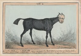 John Scott, 1st Earl of Eldon, by William Heath, published by  Thomas McLean, after  Henry Heath - NPG D48878