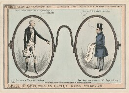 A Pair of Spectacles Easily Seen Through, by William Heath, published by  Thomas McLean - NPG D48888