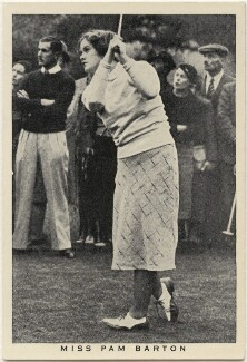 Pamela Espeut Barton, issued by W.D. & H.O. Wills - NPG D49218