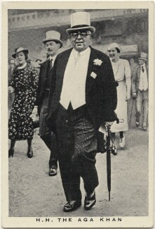 Aga Khan III (Mohammed Shah), issued by W.D. & H.O. Wills - NPG D49221