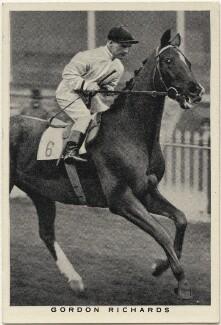 Sir Gordon Richards, issued by W.D. & H.O. Wills - NPG D49226