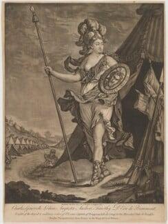 Chevalier d'Eon, published by Samuel Hooper - NPG D49374