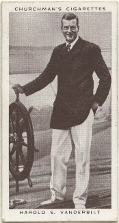 Harold Stirling Vanderbilt, issued by W.A. & A.C. Churchman - NPG D49280