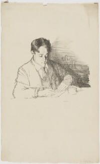 Laurence Binyon, by William Rothenstein - NPG D49391