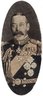King George V, by Press Portrait Bureau, issued by  Carreras Tobacco Company - NPG D49293