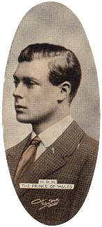 Prince Edward, Duke of Windsor (King Edward VIII), by Vandyk, issued by  Carreras Tobacco Company - NPG D49295