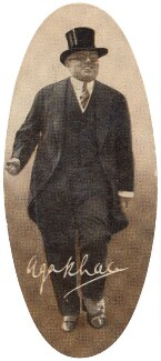Aga Khan III (Mohammed Shah), by Unknown photographer, issued by  Carreras Tobacco Company - NPG D49303