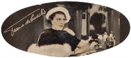 Jeanne de Casalis, by Unknown photographer, issued by  Carreras Tobacco Company - NPG D49328
