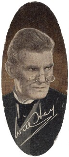 Will Hay, by Unknown photographer, issued by  Carreras Tobacco Company - NPG D49332