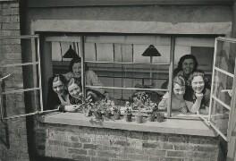 Six of Dorothy Wilding's Bond Street studio staff, by Beatrice Johnson - NPG x200912