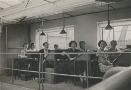 Eight of Dorothy Wilding's studio staff, by Beatrice Johnson - NPG x200910