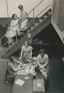 Five members of Dorothy Wilding's studio staff, by Beatrice Johnson - NPG x200914